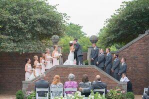 Vintage Mansion Wedding Ceremony
