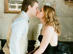 The Bride Jessica Cantrill, 29, an art teacher The Groom Hunter Hamilton, 25, a manager at GNC The Date January 7  The theme for this vow renewal? An