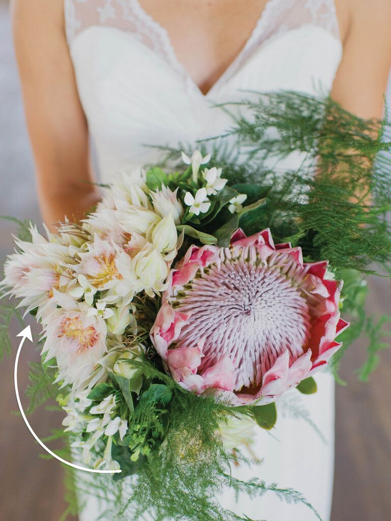 Blushing brides flower wedding gallery wedding flower names you need to know mightylinksfo