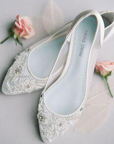 Bella Belle ADORA Ivory Shoe