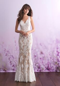 Allure Romance 3108 Sheath Wedding Dress