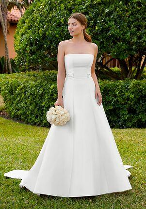 Adrianna Papell Platinum 31202 A-Line Wedding Dress