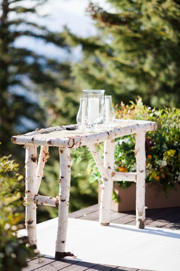 Aspen Tree Table Alter Decor