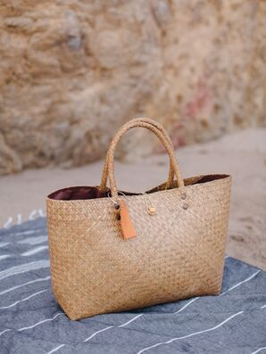 Woven Beach Welcome Bags