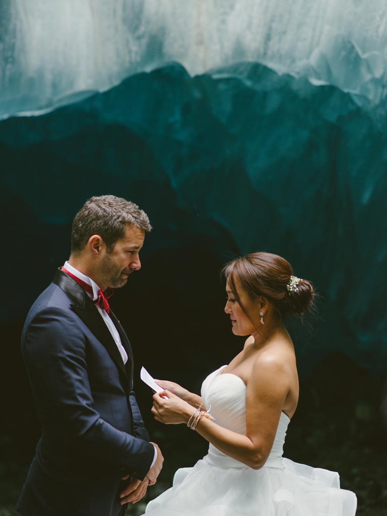 Cave Wedding Vows