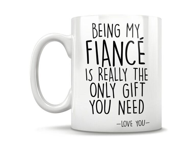 funny fiance mug gift