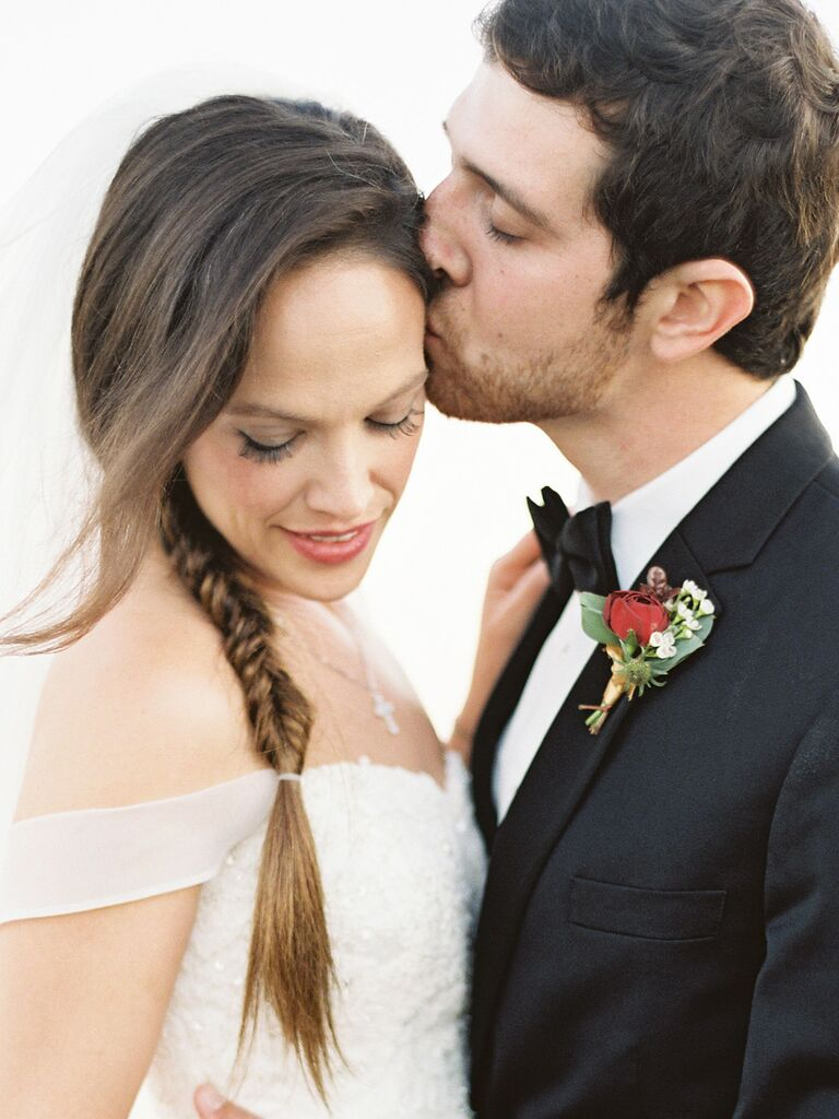 wedding braid hairstyles side fishtail