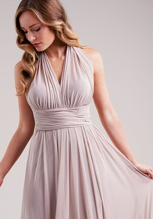 Belsoie Bridesmaids by Jasmine L224013 Halter Bridesmaid Dress