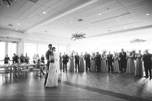 First Dance at Newport Beach Club Reception