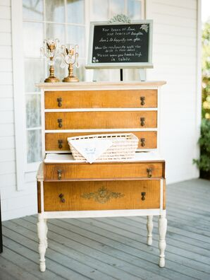 Rustic Wedding Antique Furniture Decor