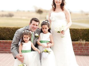 Andrea Boccard (30 and works in marketing) and Jason Boccard (35 and works in business development) married in an Irish-themed celebration with 200 fr