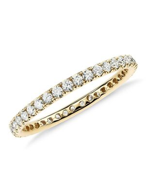 Blue Nile 58221 Gold Wedding Ring