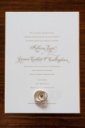 Classic Custom-Designed Wedding Invitations