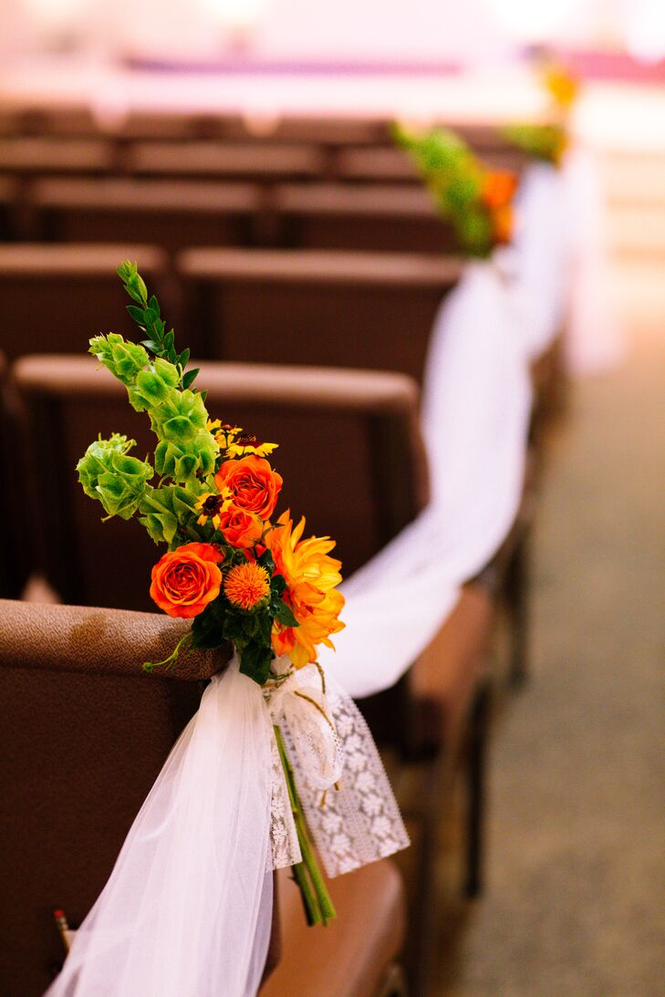Orange and Green Floral Arrangement