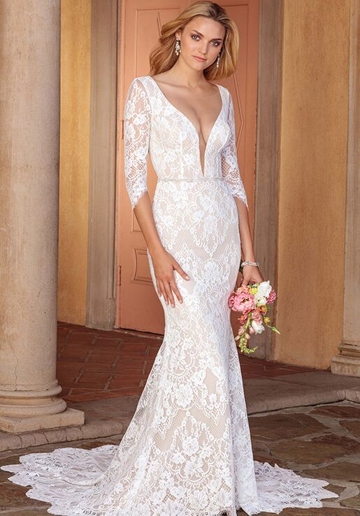 Casablanca Bridal 2331 Ainsley Mermaid Wedding Dress