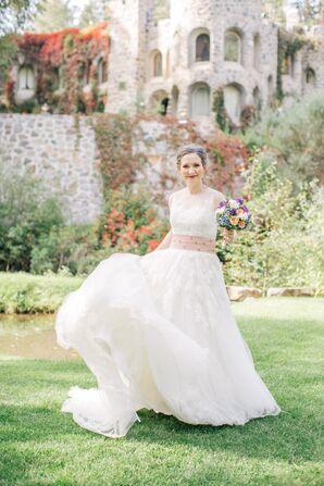 Enzoani Romantic Ball Gown Wedding Dress