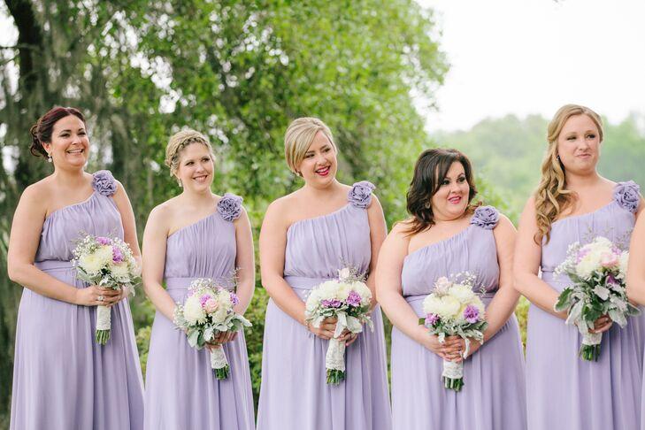 44b7ca1666 Dessy Group Lavender Bridesmaid Dresses