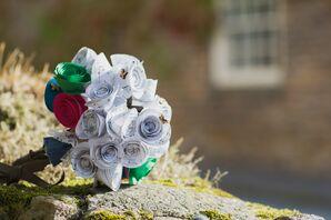 Sheet-Music Bridal Bouquet