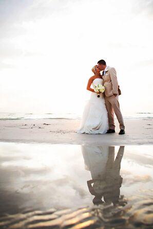 Romantic Clearwater Beach, Florida Couple Shot