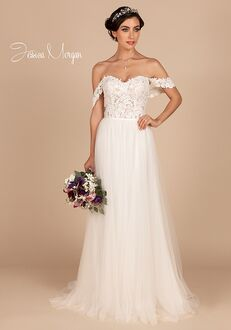 Jessica Morgan PLUSH, J2053 Sheath Wedding Dress