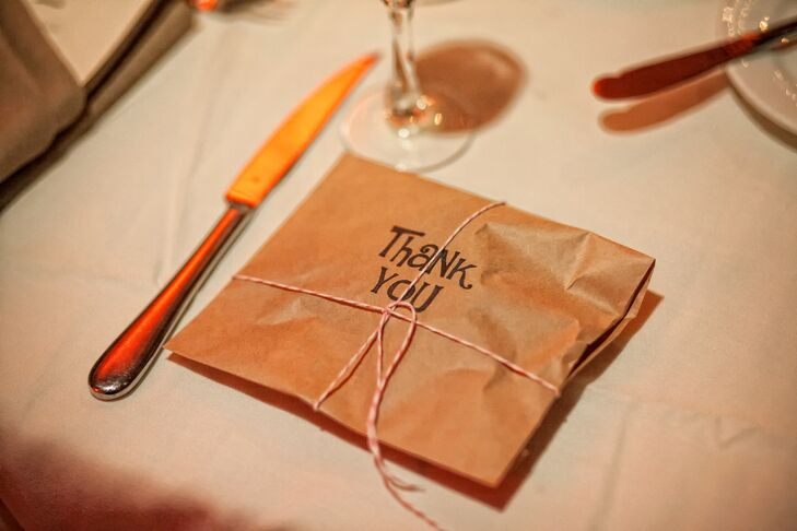 Wedding Favors Wrapped With Twine