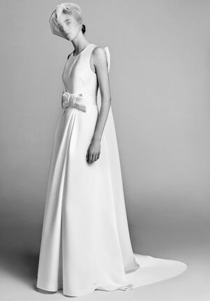 46084fa03c0 Viktor Rolf Mariage. Watteau Pleat Column Dress