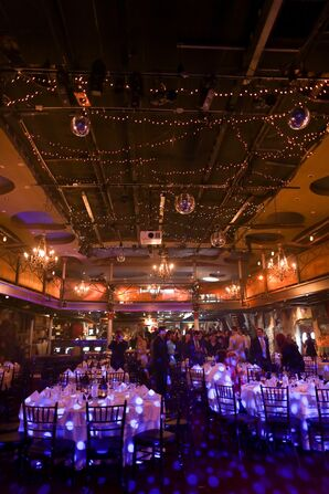 Varsity Theatre Wedding Reception