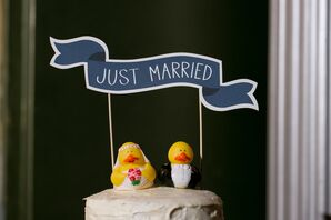 Rubber Duck Cake Toppers
