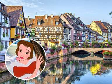 France and photo of Belle