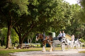 Buckingham Farms Horse-Drawn Carriage Entrance
