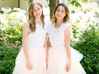 junior bridesmaids smiling