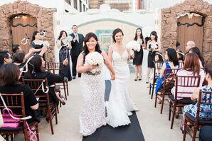 Brides' Wedding Dresses
