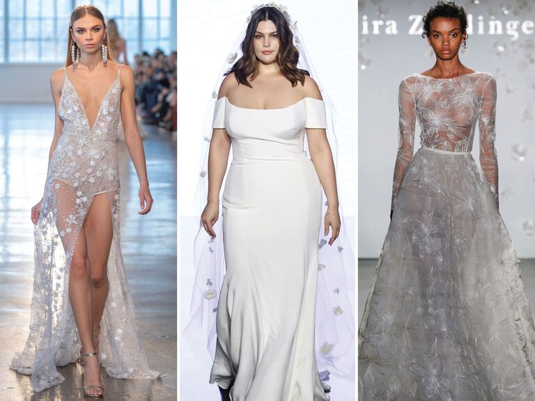 Sexy wedding dresses from Bridal Fashion Week