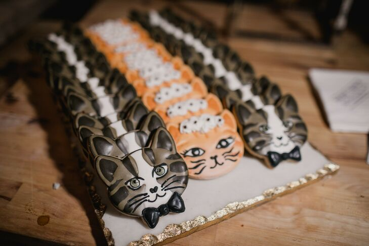 Cat Cookies at New Liberty Distillery in Philadelphia
