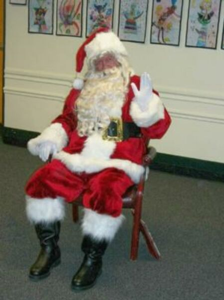 Santa at School, Rockville