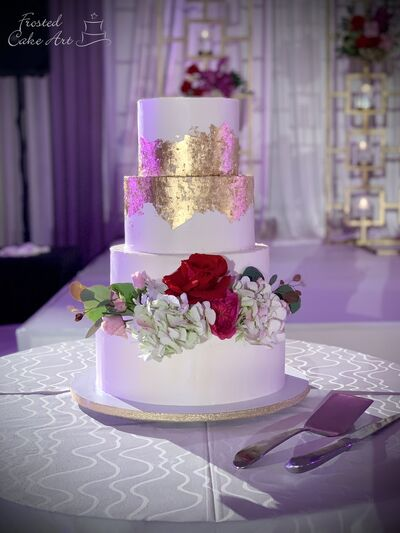 Frosted Cake Art