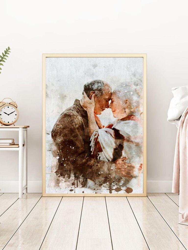 Canvas art photo gift