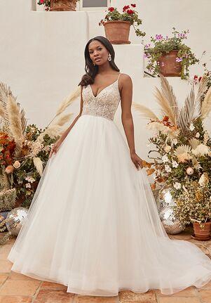 Beloved by Casablanca Bridal BL337-1 Emerald A-Line Wedding Dress
