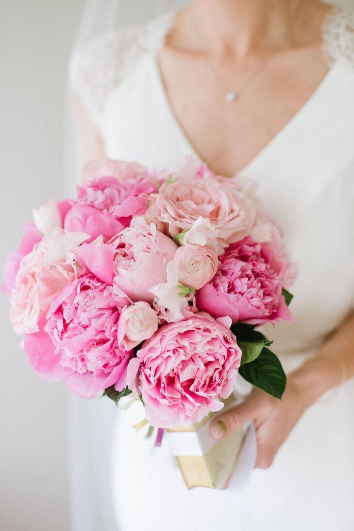 Lush Pink Peony Bouquet