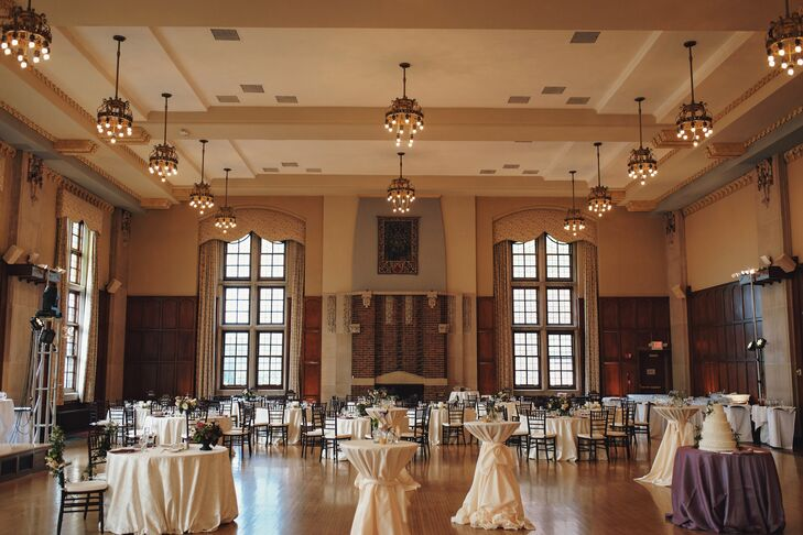 Elegant Michigan Union Ballroom Reception