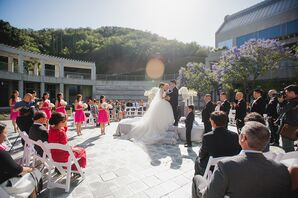 Private Outdoor Ceremony at Skirball Cultural Center
