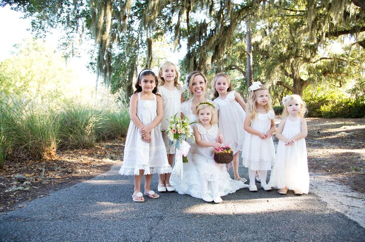 "Angelic White ""Flower Princess"" Dresses"