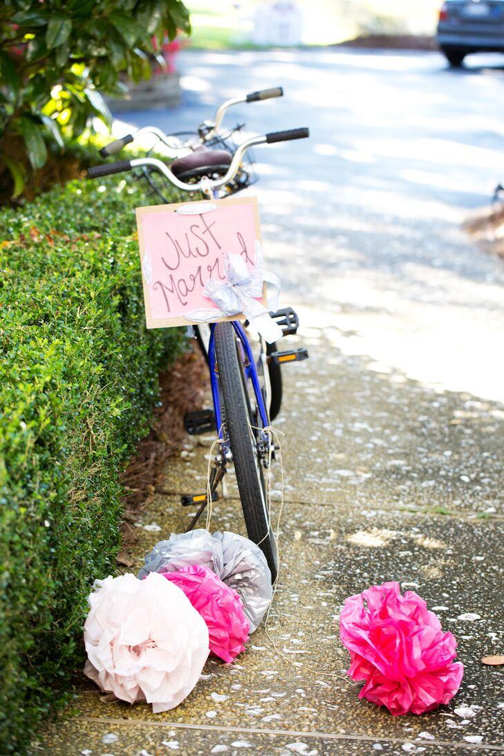 Decorated Getaway Bicycle