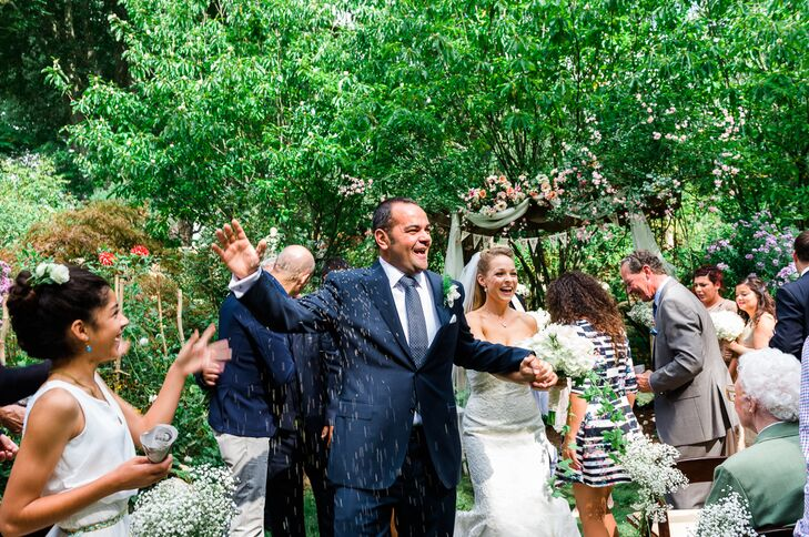 An Intimate Garden Party Themed Wedding At Kentford Farms In