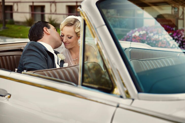 The Bride Barbara Dieckman, 31, works for Apple Inc. The Groom J. Carlos Orellana, 33, an attorney The Date August 6  Because of their love of travel,