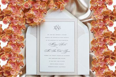 Cordially Yours Invitations and Calligraphy