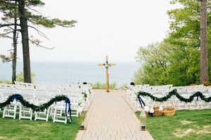 Outdoor Ceremony Overlooking Lake Michigan