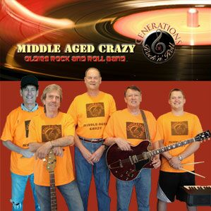 Middle-Aged Crazy Band - Oldies Band - Dallas, TX