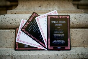 Tarot-Card-Style Invitations