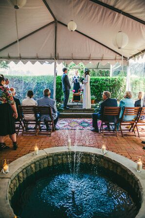 Courtyard Tent Ceremony